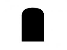Image of semi round profile